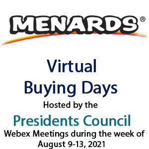 2021-08-09 Menards Virtual Buying Day